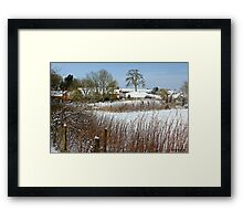 Snow Comes South Framed Print