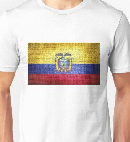 Ecuador Flag Unisex T-Shirt