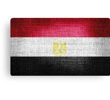 Egypt Flag Canvas Print
