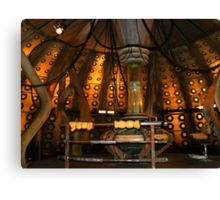Inside the Tardis the 10th Doctor Canvas Print