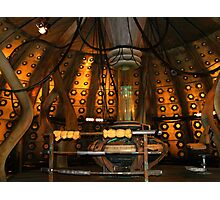 Inside the Tardis the 10th Doctor Photographic Print