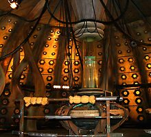 Inside the Tardis the 10th Doctor by simonbreeze