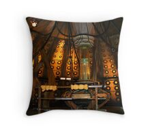 Inside the Tardis the 10th Doctor Throw Pillow