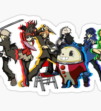 Persona 4 TWEWY style Sticker