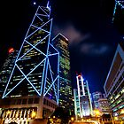 Hong Kong Skyline by Paul O'Connell
