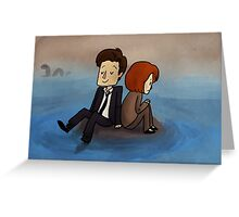 quagmire (x-files) Greeting Card