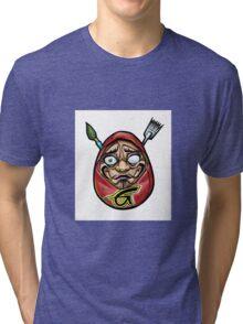 grace tattoo daruma logo Tri-blend T-Shirt
