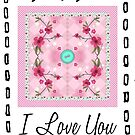 i love you button by studenna