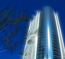 Electrifying Blue by Teresa Zieba