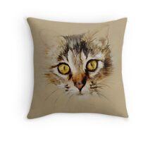 Mister Sprinkles; Tabby Cat Throw Pillow