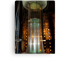 Tardis Time Rota 10th Doctor Canvas Print