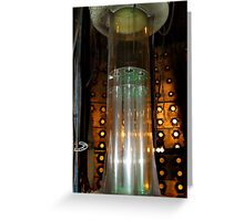 Tardis Time Rota 10th Doctor Greeting Card