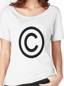 copy right 2008 Women's Relaxed Fit T-Shirt
