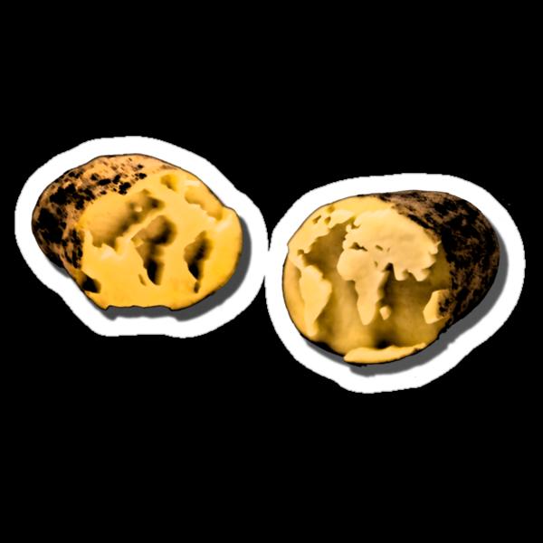 the world is a potato by Stefan Trenker