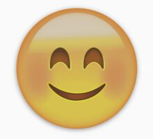 Smiling Face With Smiling Eyes Emoji by emojiprints