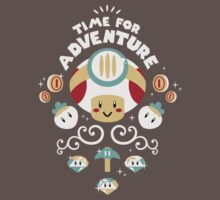 Time for Adventure Toad Kids Clothes