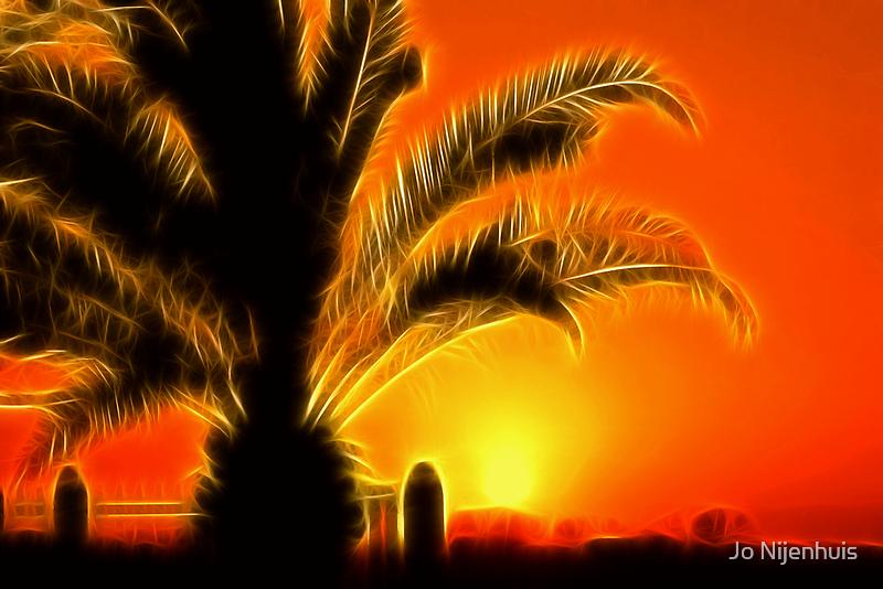 Tropical Sunset by Jo Nijenhuis