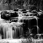 waterfall by Di Dowsett