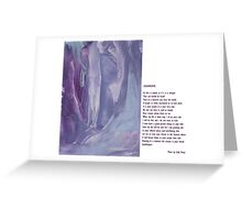 Collaboration soulwhispers with Sally Omar Greeting Card