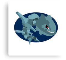 Steelix - 2nd Gen Canvas Print