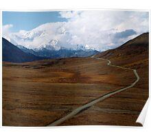 Alaska's Denali National Park Poster