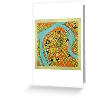 cypher number 19 - koblenz  (original sold) Greeting Card