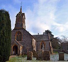Church at Cricket St Thomas, Somerset UK by lynn carter