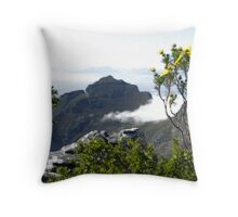 View from the top of Table Mountain Throw Pillow