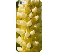 Yellow Lupin iPhone Case/Skin