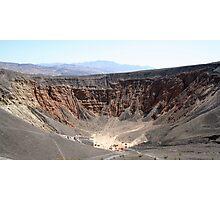 Ubehebe Crater Photographic Print