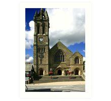 Parish Church, Peebles Art Print