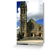 Parish Church, Peebles Greeting Card