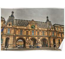 Louvre Drive-Through Poster