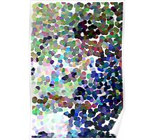 Mikail, guitarist (pointillism abstract) Poster