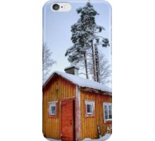 4.2.2015: Small and Abandoned Sauna II iPhone Case/Skin