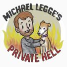 michael legge's private hell; logo by dongpeiyen1000