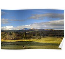 Rusland Valley and Coniston Fells Poster