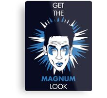 Get the Magnum look Metal Print