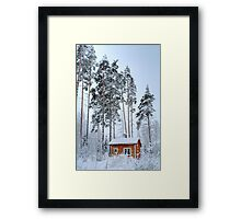 4.2.2015: Small and Abandoned Sauna III Framed Print