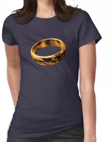 Ring Womens Fitted T-Shirt