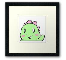 Ahhh It's DinoRAWR ! Framed Print