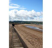 The Promenade and Beach, Ayr Photographic Print
