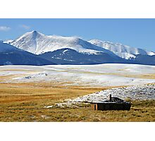 Serene Isolation in Colorado Photographic Print