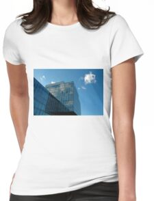 Blue sky... Womens Fitted T-Shirt