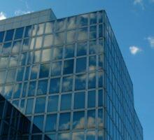 Blue sky... Sticker