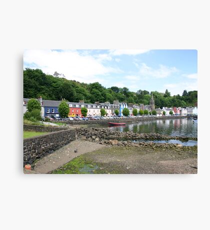 Tobermory Harbour Canvas Print