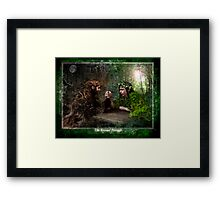 The Eternal Struggle : Equinox Framed Print