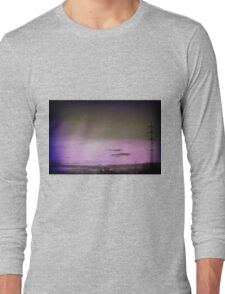 Purple sky.. Long Sleeve T-Shirt