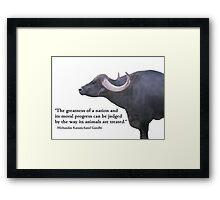 Oink Framed Print