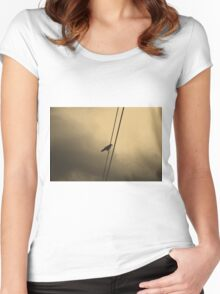 Wire Women's Fitted Scoop T-Shirt